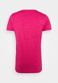 Tommy Jeans - SLIM JASPE V NECK - T-shirt - bas - pink - 6