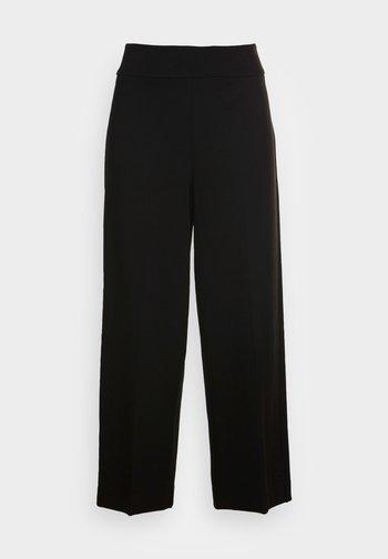 MISHA SOFT - Kalhoty - black
