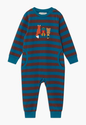 STRINDBERG BABY ROMPER - Pyjama - brown/blue