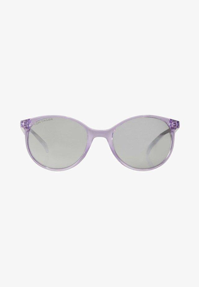 Zonnebril - violett transparent plum