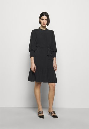 LILLIE DAISY DRESS - Shirt dress - black