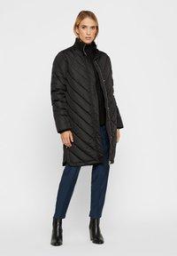 YAS - STEPP - Down coat - black - 1