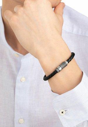 MIT LED - Bracelet - schwarz