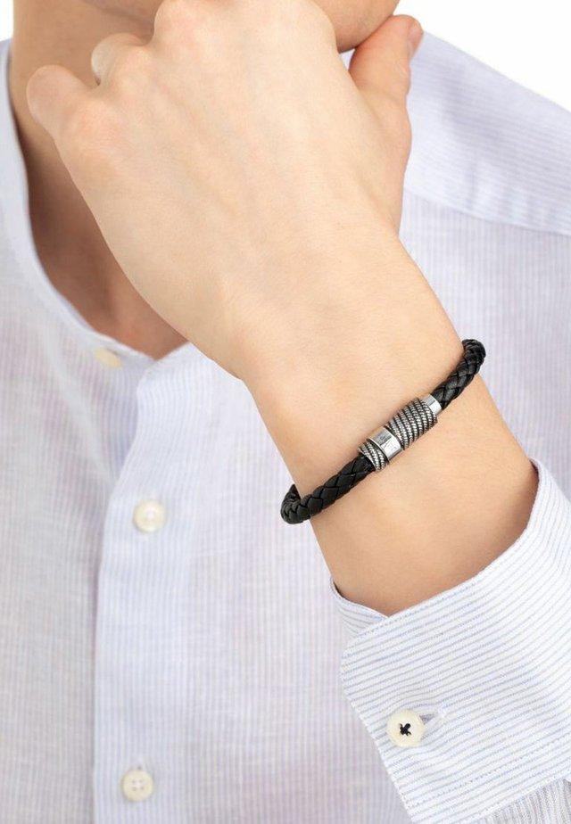 MIT LED - Bracciale - schwarz