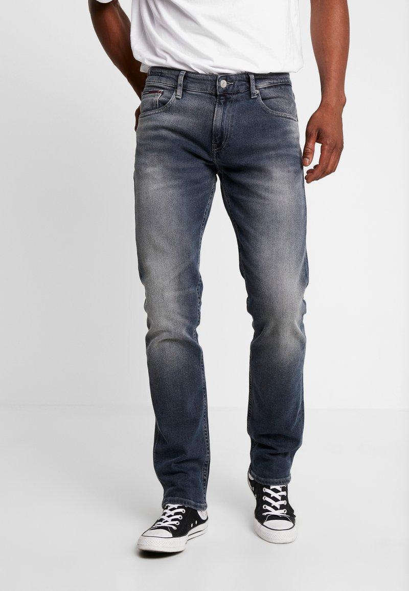 Tommy Jeans - RYAN  - Džíny Straight Fit - dark-blue denim