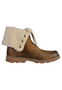 Timberland - Lace-up ankle boots - dark sudan - 6