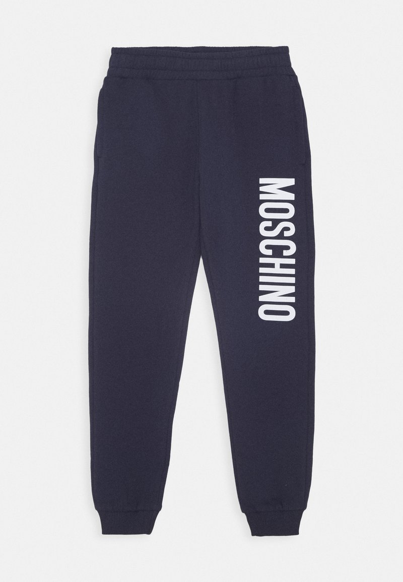MOSCHINO - Tracksuit bottoms - blue navy