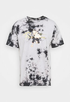 NUEVO KURAMA WASHED TEE - Print T-shirt - black