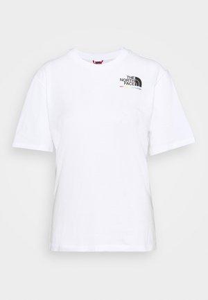 RAINBOW TEE - T-shirt con stampa - white