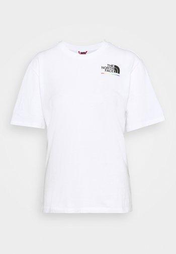 RAINBOW TEE - Print T-shirt - white
