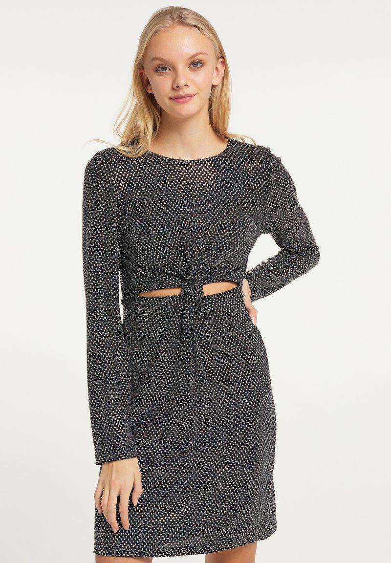 myMo at night - Cocktail dress / Party dress - holografisch schwarz