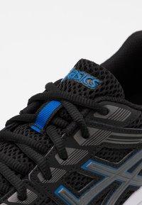 ASICS - GEL BRAID - Neutral running shoes - black/gunmetal - 5
