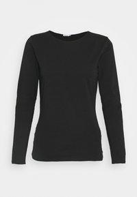 Filippa K - LONG SLEEVE - Long sleeved top - black - 0