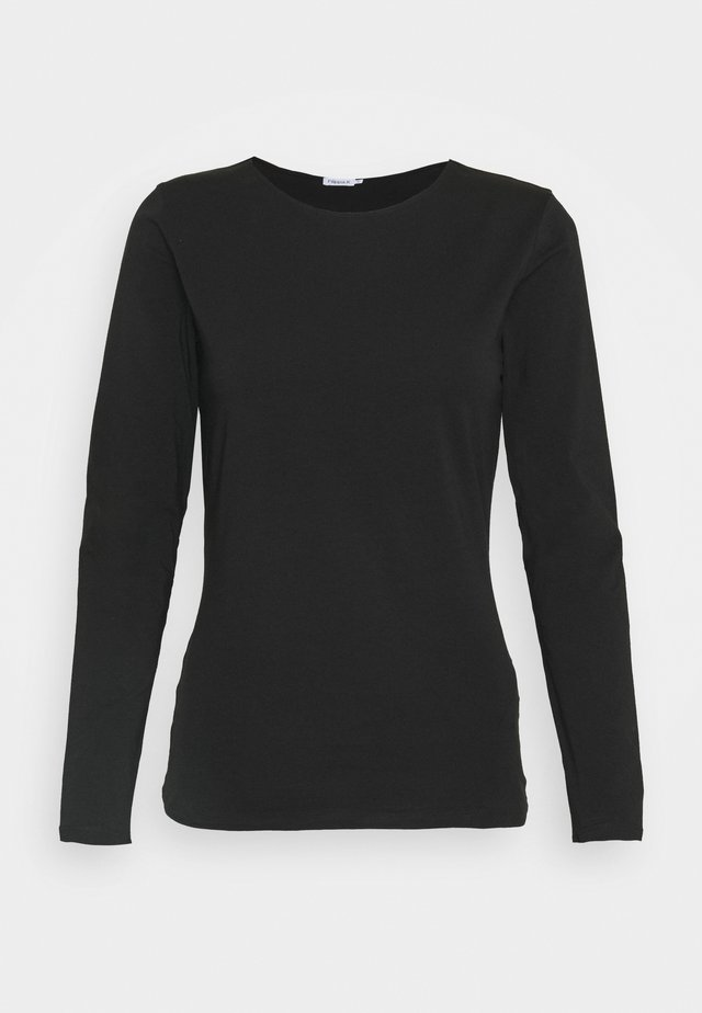 LONG SLEEVE - Camiseta de manga larga - black