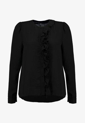VMYVONNE ZIGGA FRILL - Blouse - black