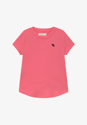 CURVED - Basic T-shirt - pink