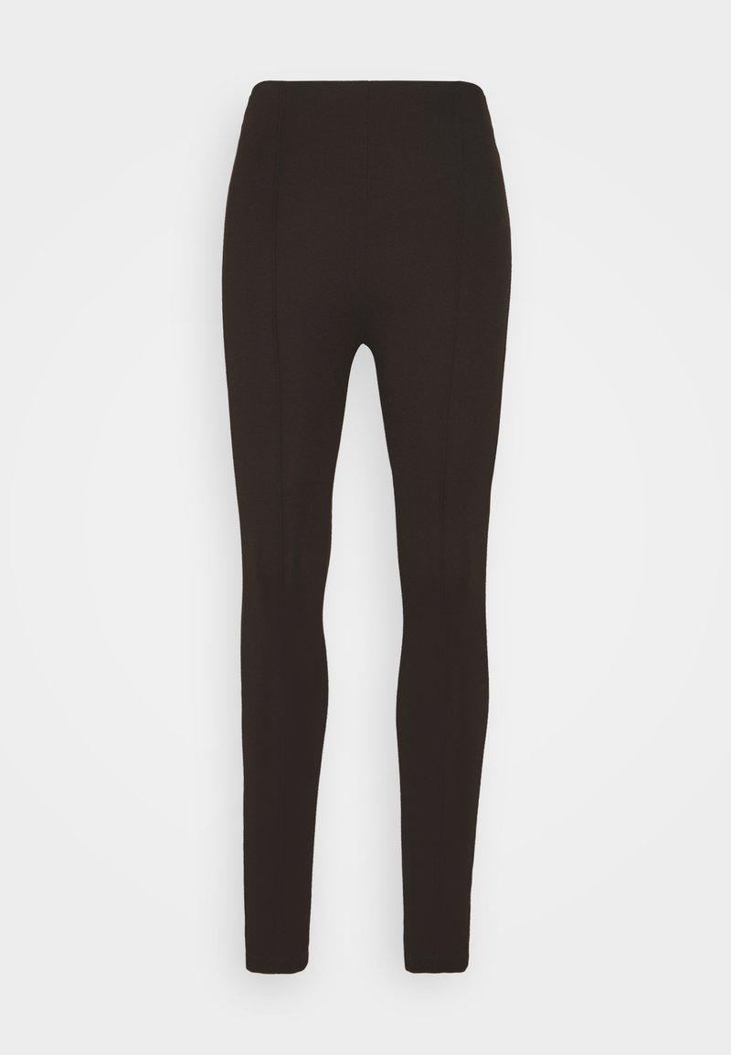 Trendyol - Leggings - Trousers - brown