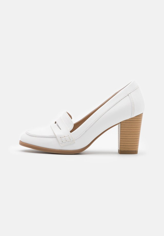 CHANNING - Classic heels - crème white