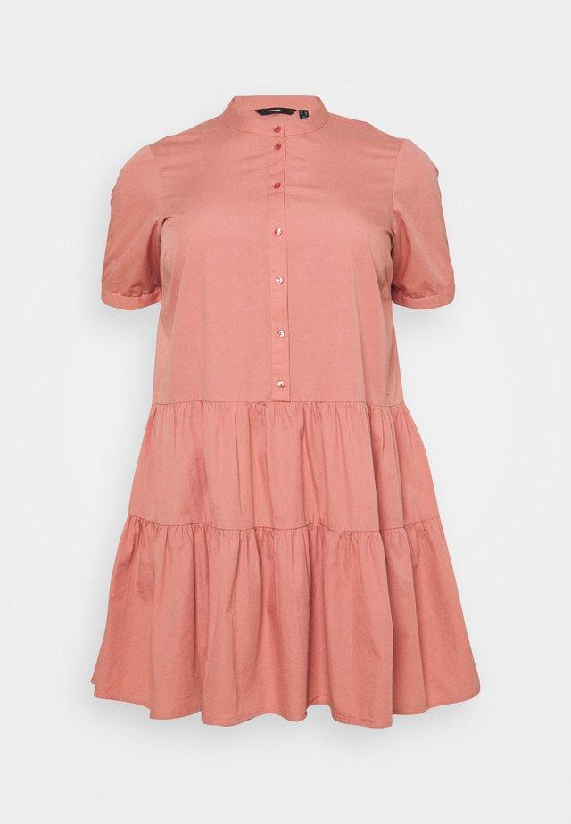 VMDELTA DRESS - Shirt dress - old rose