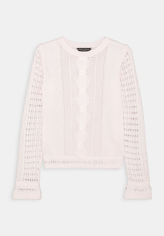 CREW NECK - Sweter - blush