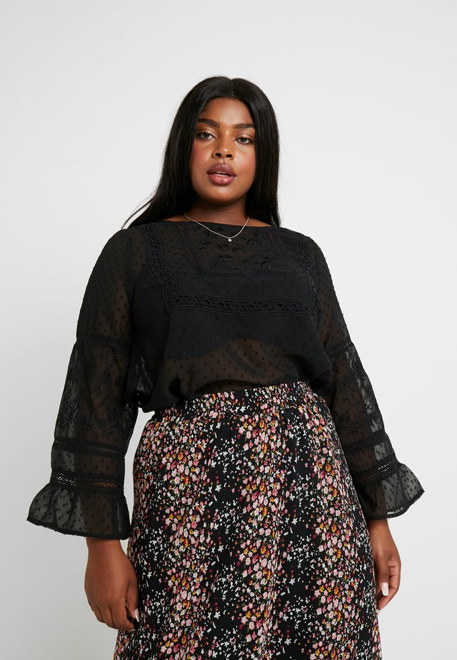 YSERINA BLOUSE - Blouse - black