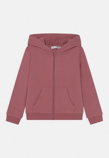 NKFLENA - Zip-up sweatshirt - deco rose