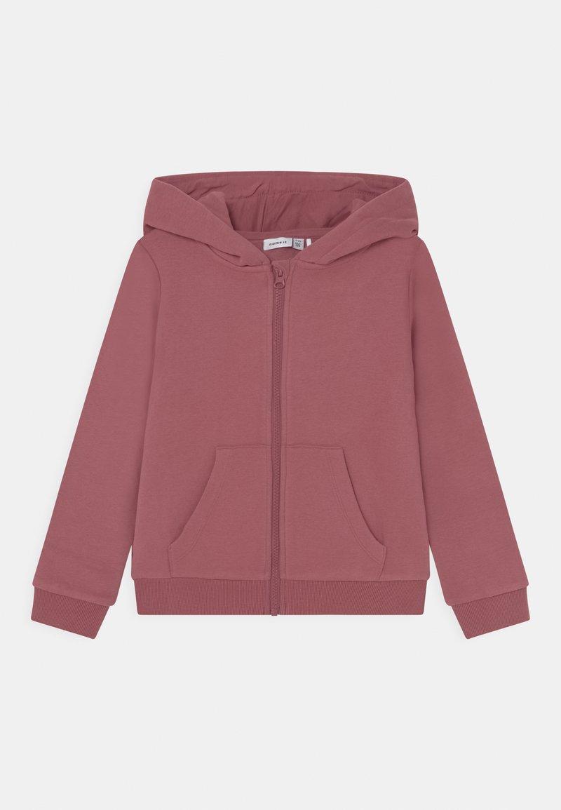 Name it - NKFLENA - Sweater met rits - deco rose