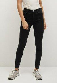 Mango - NOA - Jeans Skinny Fit - black denim - 0
