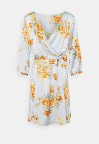 Vila - VIJOSE LUNA SHORT DRESS - Denní šaty - ashley blue - 0