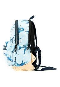 pick & PACK - SHARK RUCKSACK M - KINDERRUCKSACK HAIE - Backpack - hellblau - 2
