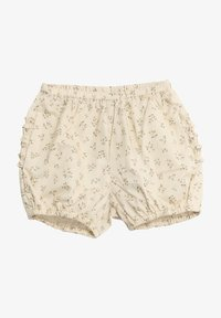 Wheat - Shorts - eggshell flowers - 0