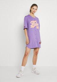 FUBU - VARSITY BASEBALL DRESS - Jersey dress - purple - 1