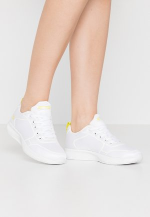 BOBS SQUAD 2 - Sneakers - white/yellow