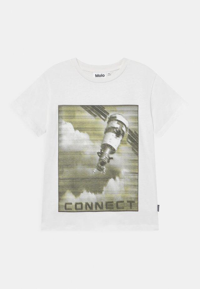 RAME - Print T-shirt - white star
