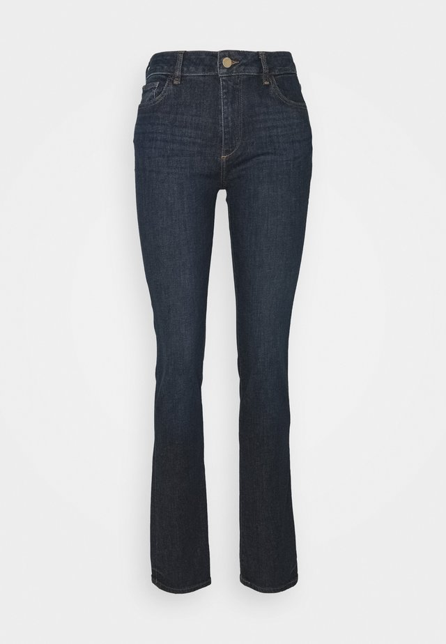 COCO MID RISE CURVY  - Straight leg jeans - indigo