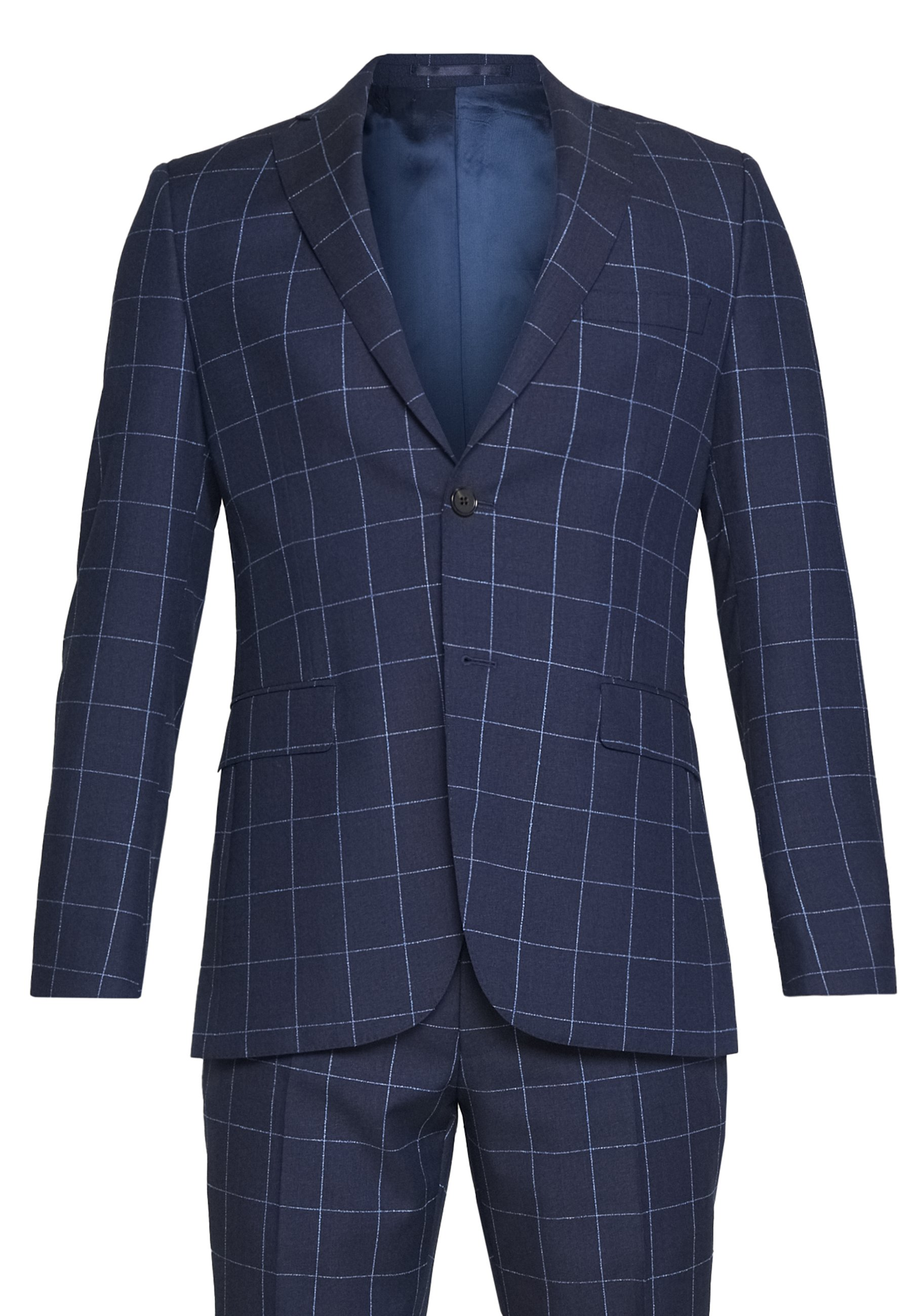 Michael Kors SLIM FIT CHECK SUIT SET - Costume - navy