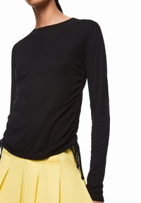 Pepe Jeans - DUA LIPA X PEPE JEANS  - Bluzka z długim rękawem - black - 3