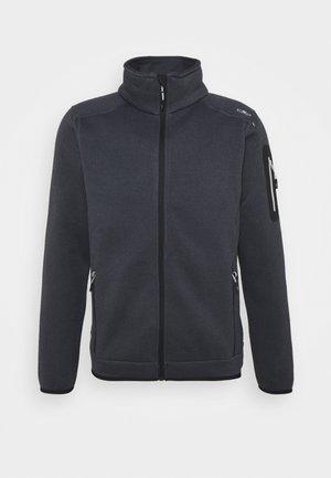 MAN JACKET - Fleece jacket - titanio