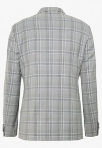 1904 - LARGE GRID CHECK JACKET SKINNY - Marynarka garniturowa - mid grey - 1