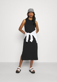 Even&Odd - Žerzejové šaty - black - 1