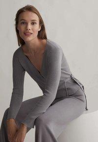OYSHO - Kalhoty - grey - 5