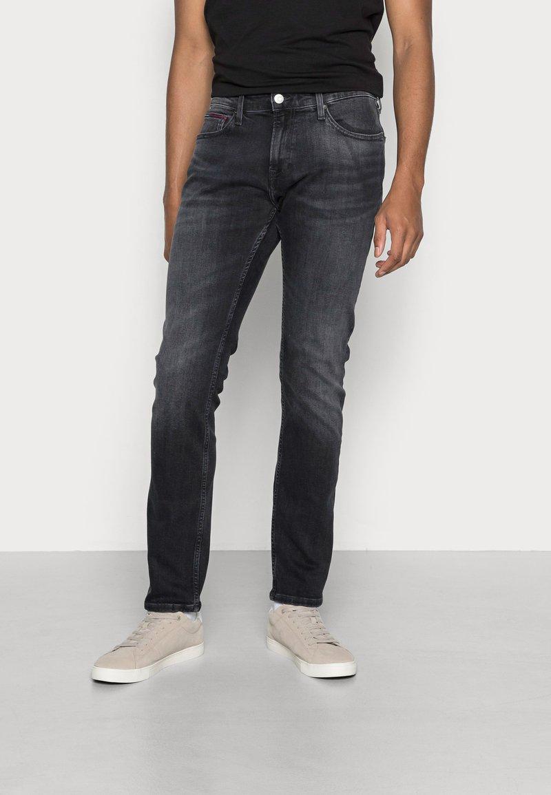 Tommy Jeans - SCANTON  - Slim fit jeans - denim black