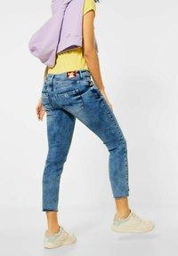 Street One - MIT NIETEN - Slim fit jeans - blau - 1