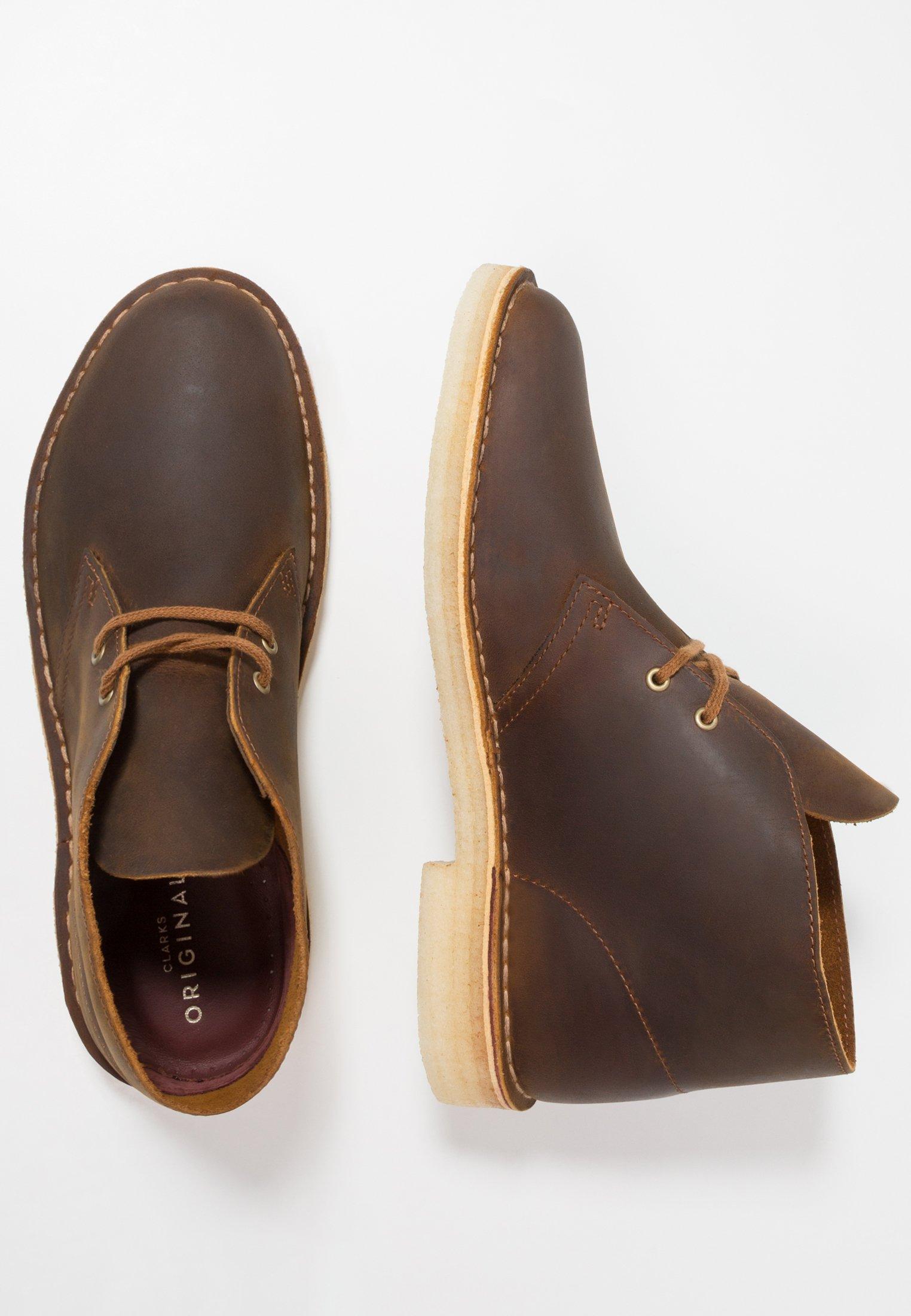 Clarks Originals DESERT Casual snøresko brown Zalando.no