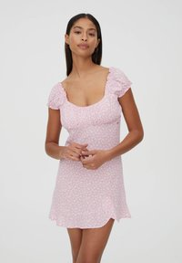 PULL&BEAR - Denní šaty - rose gold coloured - 0