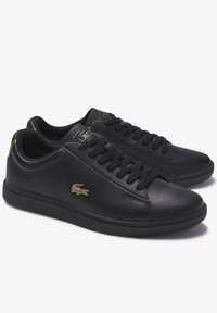 Lacoste - CARNABY EVO  - Sneakersy niskie - blk/blk - 2