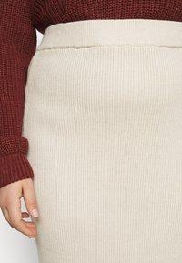 Glamorous Curve - MIDI SKIRT - Pencil skirt - stone - 4