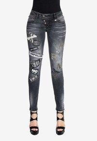 Cipo & Baxx - Slim fit jeans - black - 0