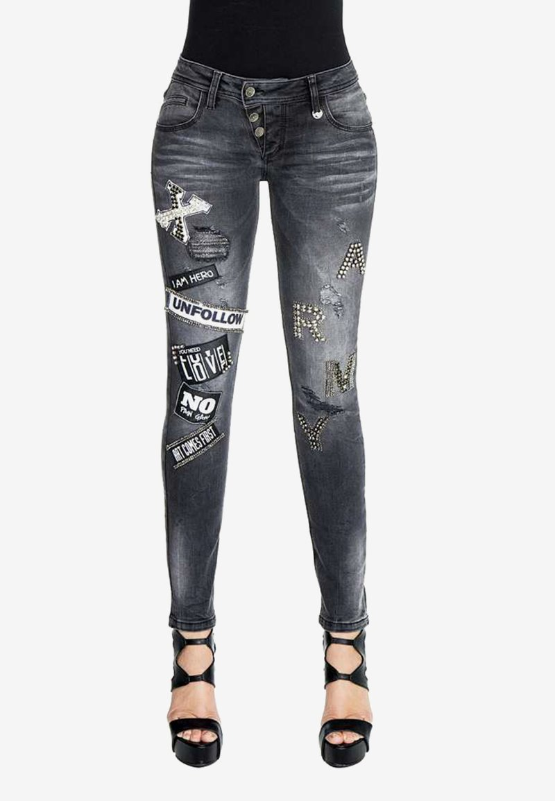 Cipo & Baxx - Slim fit jeans - black