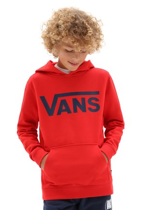 BY VANS CLASSIC PO HOODIE FT BOYS - Hoodie - high risk red/dress blues